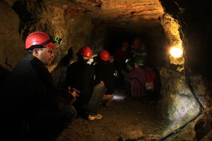 Galerie mines de cuivre