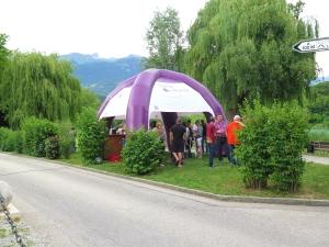 la tente Vinum Montis